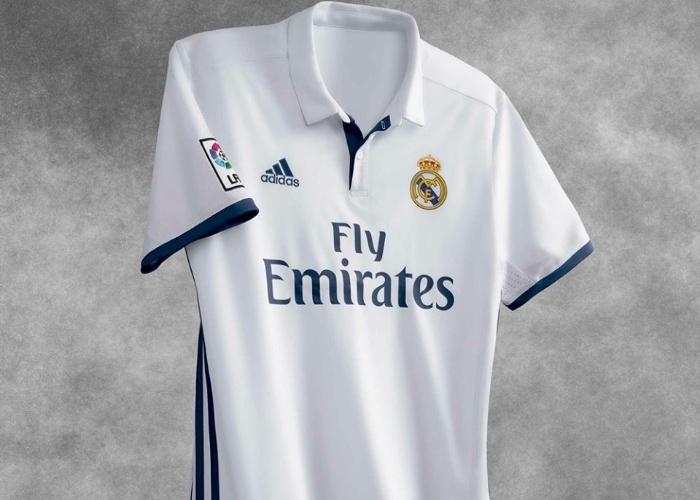 Novo uniforme do Real Madrid