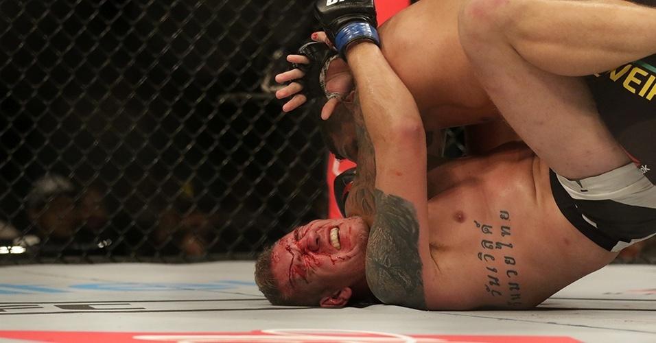Luís Henrique (Brasil) derrotou Christian Colombo (Dinamarca) em luta dos pesados pelo card preliminar