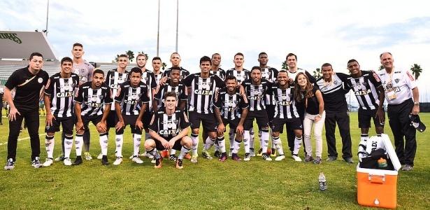 Dos 20 jogadores que estiveram na Florida Cup, apenas um não é formado pelo Atlético-MG