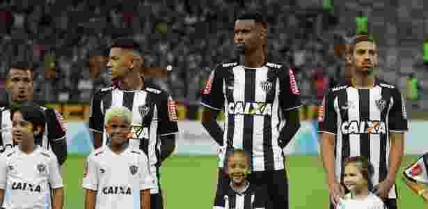 Felipe Santana (centro) está fora do Atlético-MG - Bruno Cantini/Clube Atlético Mineiro