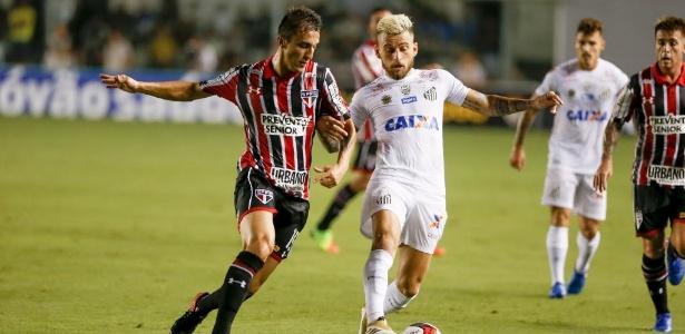 Lucas Lima se machucou no clássico contra o São Paulo, na semana passada