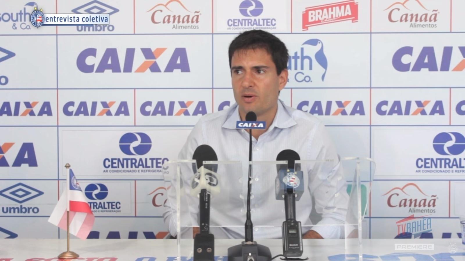 Diego Cerri, diretor do Bahia