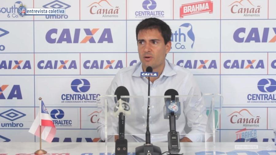 Diego Cerri trabalhou no Bahia e agora está perto de ser anunciado no Grêmio - Reprodução