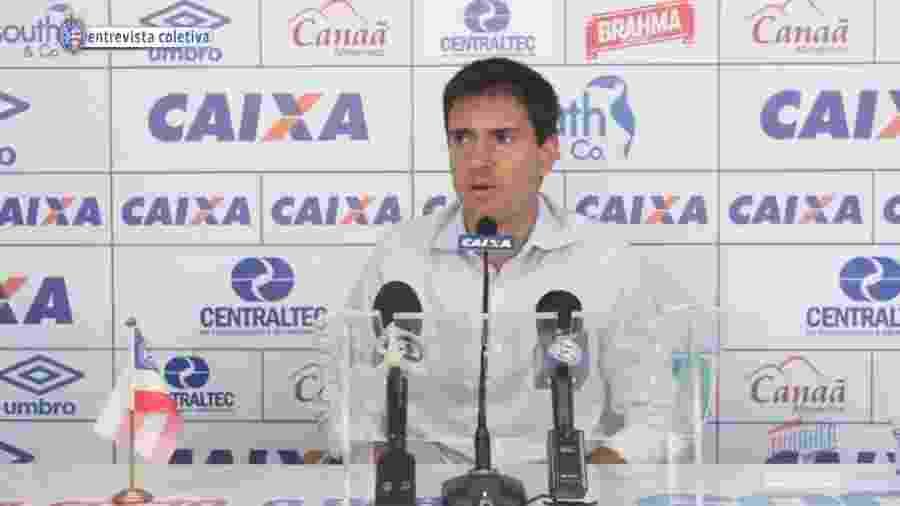 Diego Cerri, diretor do Bahia - Reprodução