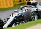 Hamilton é pole com volta mais rápida da história no GP da Austrália - Paul Crock/AFP