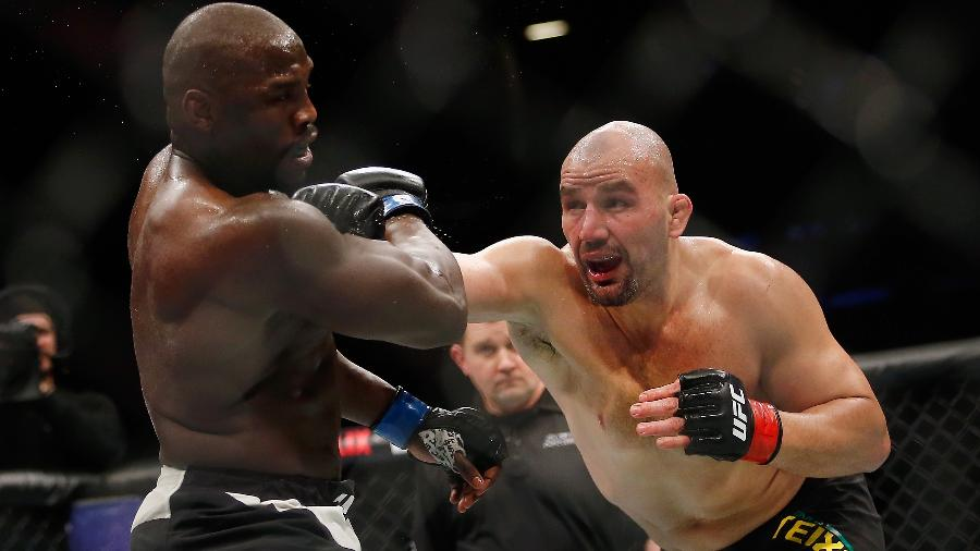 O brasileiro Glover Teixeira vai ter nova chance de lutar pelo cinturão - Anthony Geathers/Getty Images