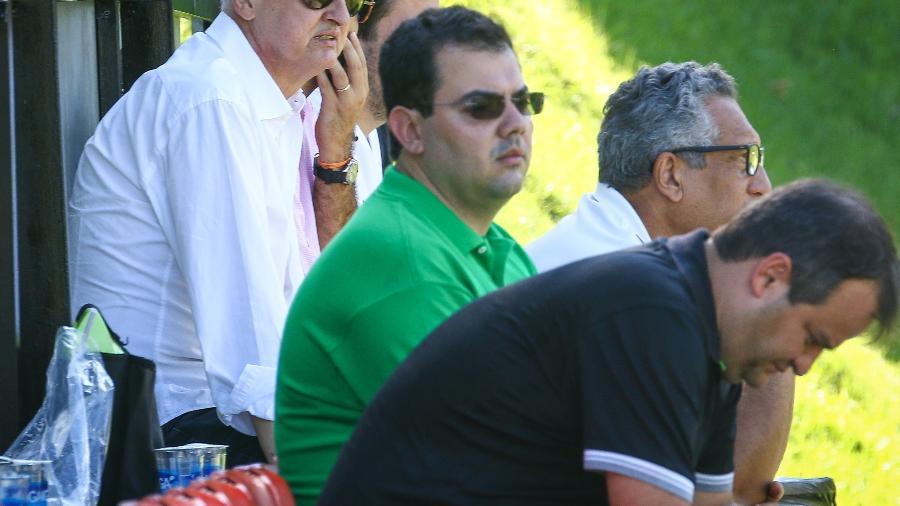 Lucas Ottoni, de camisa verde, se torna fundamental nos bastidores do Atlético-MG - Bruno Cantini/Divulgação/Atlético-MG