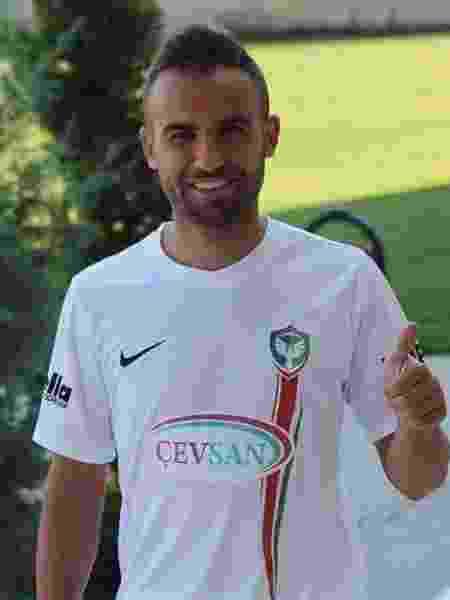 Mansur Çalar, jogador do Amed SK na terceira divisão turca - Amed Spor SK