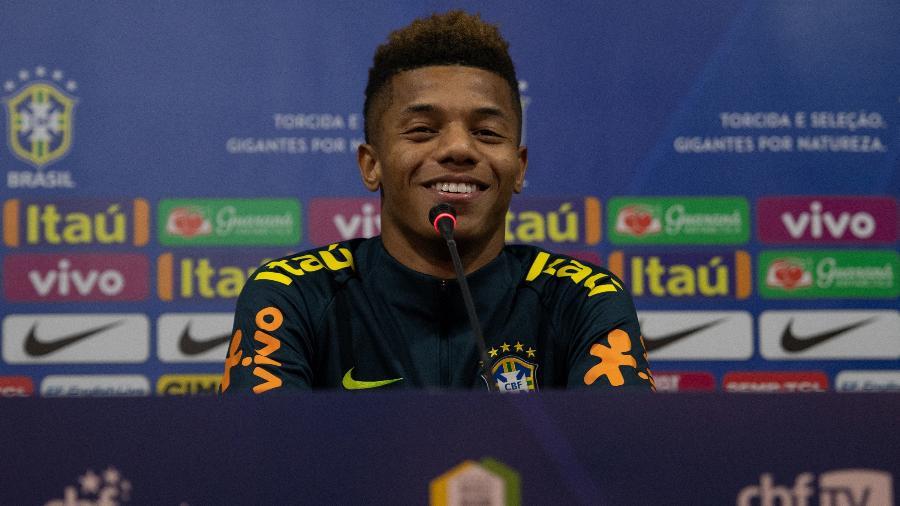 David Neres concede entrevista na sua primeira vez na seleção brasileira - Pedro Martins/Mowa Press