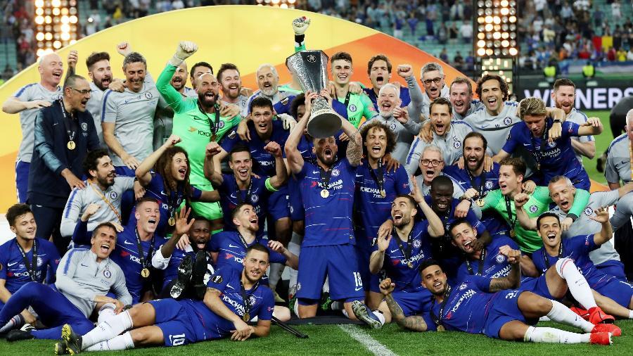 Chelsea foi campeão da Liga Europa pela segunda vez - Lee Smith/Reuters