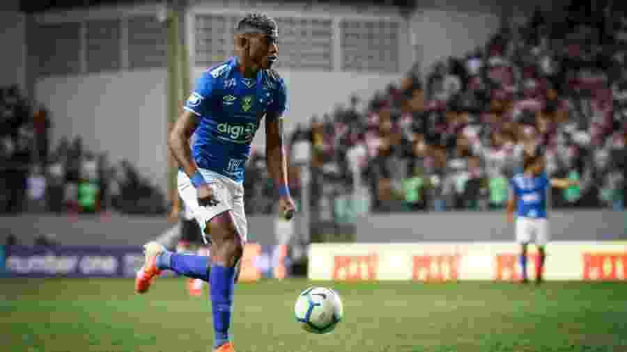 Titular absoluto, Orejuela perdeu três jogos pelo Cruzeiro para servir a seleção da Colômbia na data Fifa - Vinnicius Silva/Cruzeiro