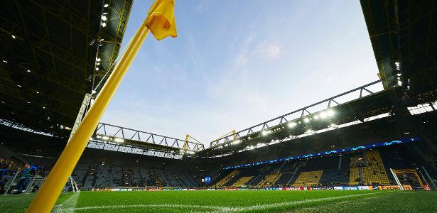 Estádio do Borussia Dortmund vira hospital de campanha contra coronavírus