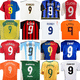 Quem foi o melhor camisa 9 dos anos 2000? Relembre e vote no seu preferido