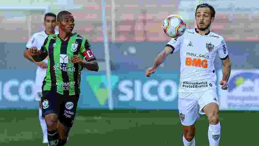 Hyoran, meio-campista do Atlético-MG, é titular de Jorge Sampaoli na volta do futebol em 2020 - Pedro Souza/Atlético-MG
