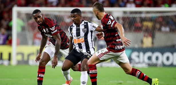Às 16h, pelo Brasileirão | Fla e Atlético-MG fazem duelo que pode marcar novo capítulo de rivalidade