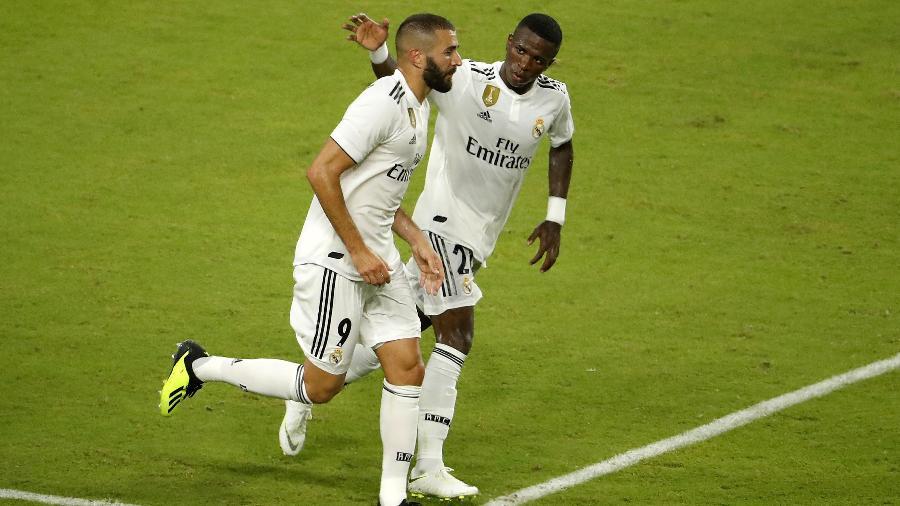Karim Benzema criticou Vinicius Jr no intervalo da Liga dos Campeões? Veja os detalhes - Angel Martinez - Real Madrid/Real Madrid via Getty Images