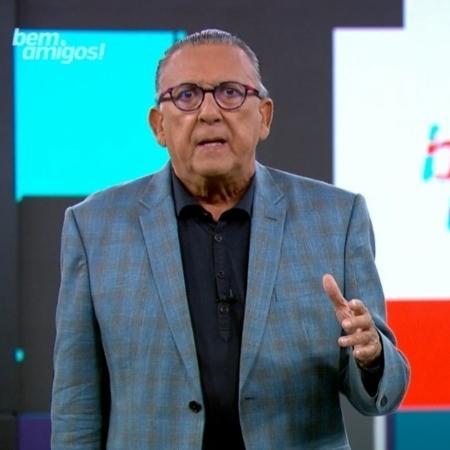 Galvão Bueno narra Inglaterra x Alemanha, amanhã, pela Eurocopa - Reprodução/SporTV