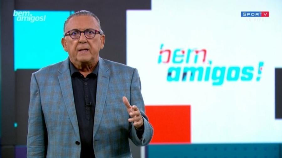 Galvão Bueno pede apuração rigorosa em caso Rogério Caboclo - Reprodução/SporTV
