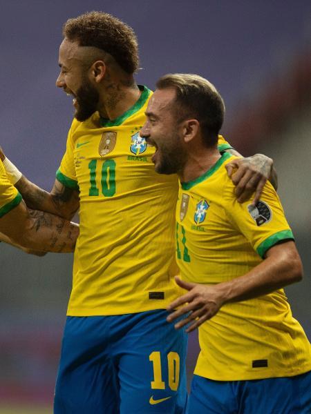 O Brasil venceu na estreia da Copa América - Lucas Figueiredo/CBF