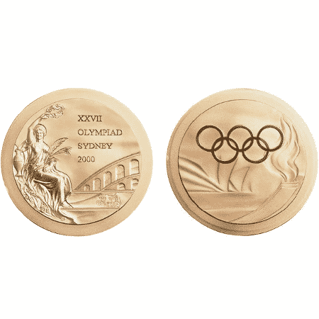 Medalha da Olimpíada de Sidney 2000 - Comitê Olímpico Internacional - Comitê Olímpico Internacional