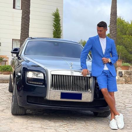 Cristiano Ronaldo faz post enigmático nas redes sociais - Reprodução/Instagram