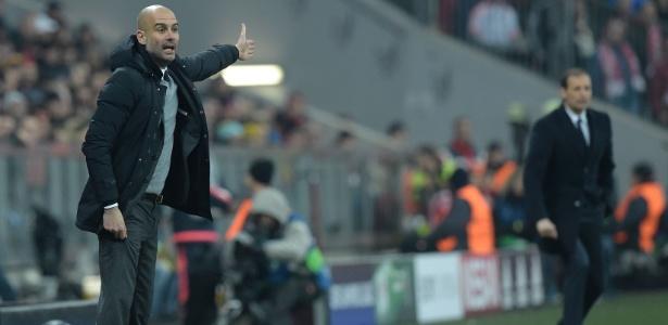 Pep Guardiola aponta o Bayern de Munique como favorito na Liga dos Campeões