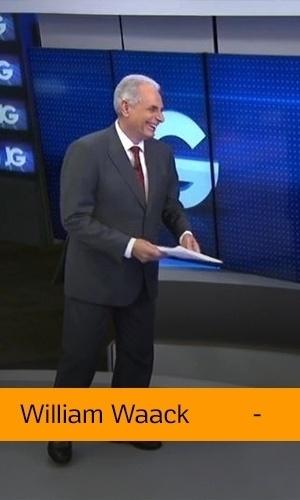 William Waack (Rede Globo): Não tem time