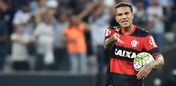 Com dores musculares, Guerrero foi vetado para partida e será substituído por Leandro Damião