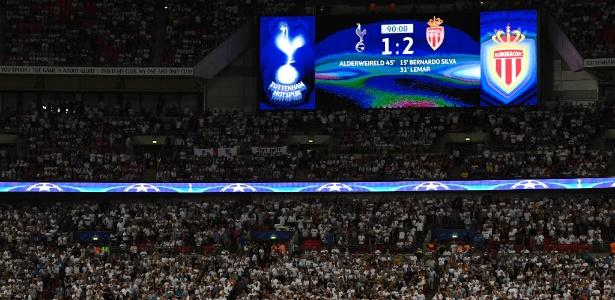 Tottenham tem usado estádio em competições europeias nesta temporada