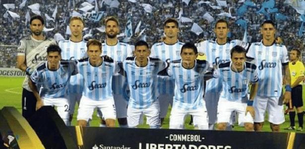 Na foto, time atual do Atlético Tucumán: antiga equipe da cidade já uniu Palmeiras e Corinthians
