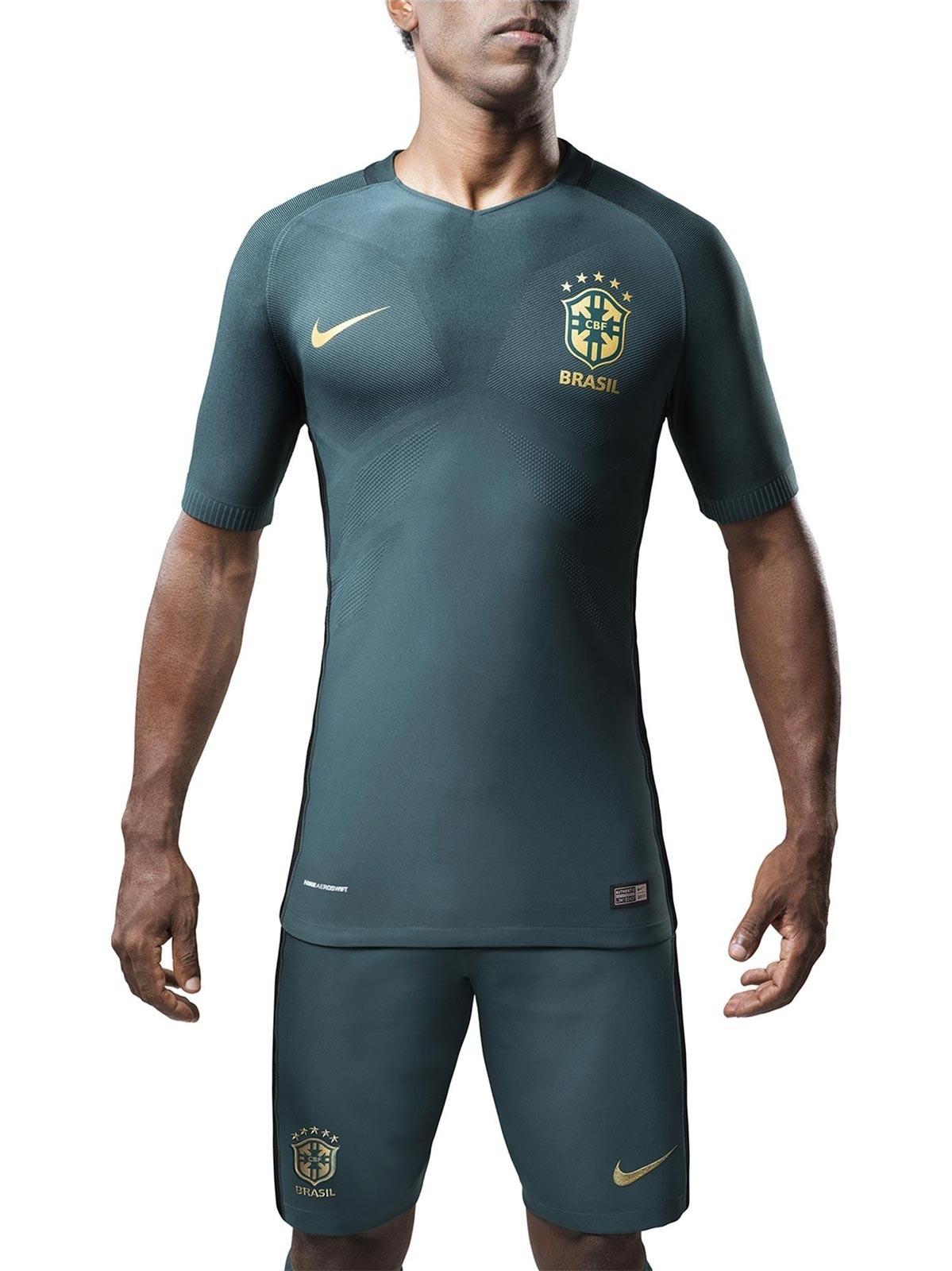 Seleção terá nova camisa 3 em verde escuro