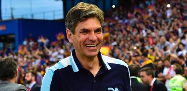 Mauricio Pellegrino deixa Alavés por motivos familiares - ANDER GILLENEA/AFP