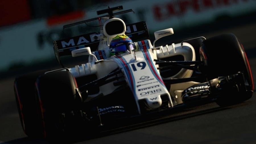 Felipe Massa durante os treinos para o GP do Azerbaijão - Clive Rose/Getty Images