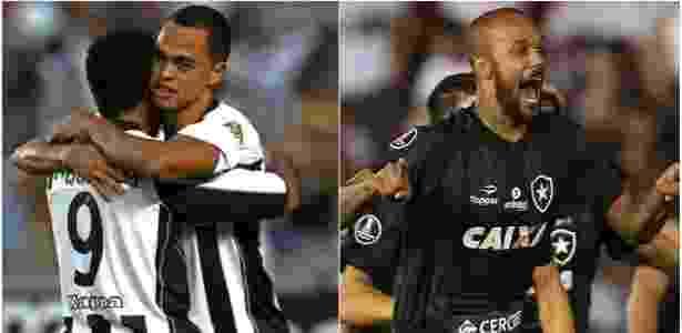 Do Carrossel de Cuca a era Jair. Botafogo encanta de formas distintas, mas não ganhou - Montagem/UOL