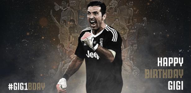 Juventus publica texto em homenagem aos 40 anos de Gianluigi Buffon