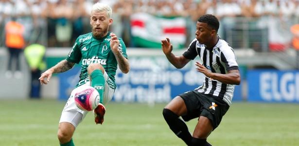 Lucas Lima tem sido elogiado no Palmeiras pela adaptação rápida a um novo posicionamento
