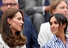 Kate Middleton e Meghan Markle acompanham semifinal entre Djokovic e Nadal - REUTERS/Toby Melville