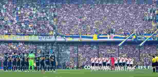 Primeira final, na Bombonera, teve mais de cem atendimentos durante o empate em 2 a 2 - Amilcar Orfali/Getty Images