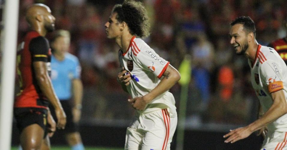 William Arão Flamengo gol Sport