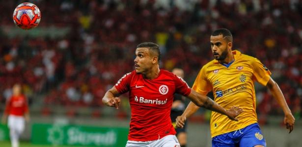 Pottker não enfrentará o Brasil de Pelotas pois quebrou o nariz no jogo passado - Jeferson Guareze/AGIF