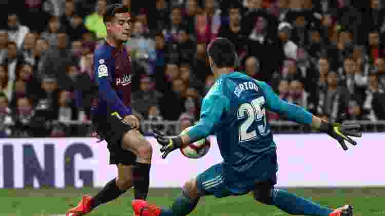 Philippe Coutinho x Real Madrid - Juan Medina/Reuters - Juan Medina/Reuters