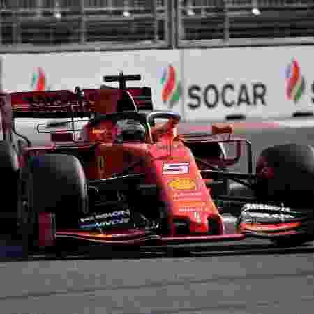 Sebastian Vettel, piloto da Ferrari - Alexander NEMENOV / AFP