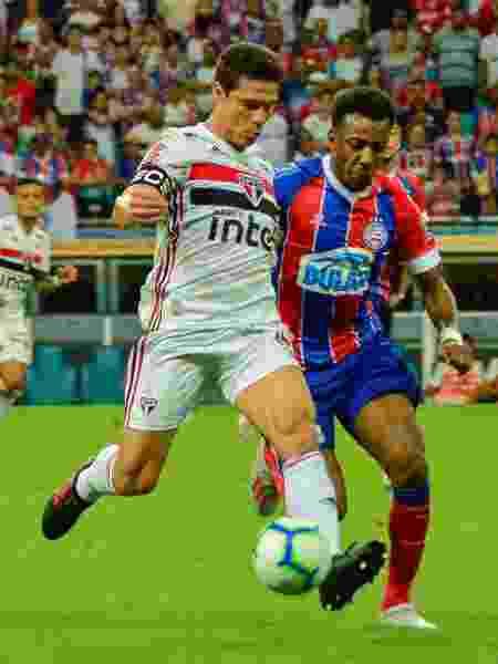 Bahia eliminou o São Paulo nas oitavas da Copa do Brasil - Jhony Pinho/AGIF