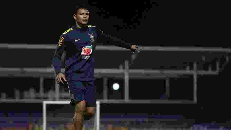 Thiago Silva - Lucas Figueiredo/CBF