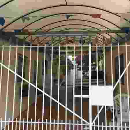 Escola fechada antes do jogo entre Colômbia e Qatar - José Eduardo Martins/UOL