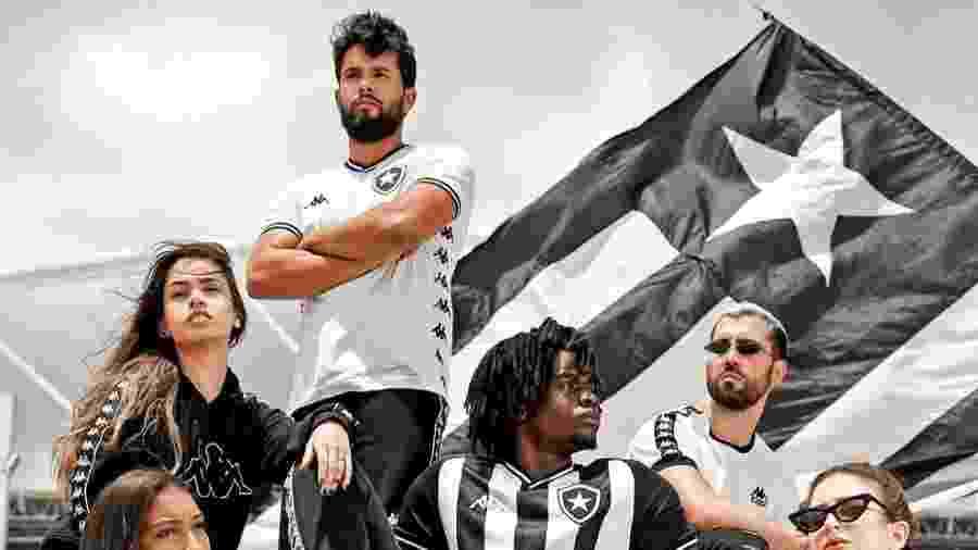 Botafogo iniciou vendas do novo uniforme do clube em parceria com a Kappa - Reprodução/Twitter
