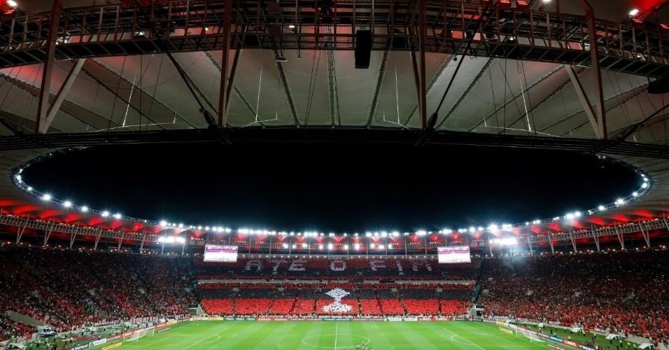 5 - 63.409 pessoas - Flamengo 5 x 0 Grêmio - 23/10 - Libertadores jogo de volta da semifinal