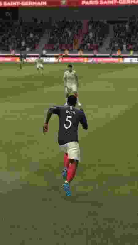 Como fazer a comemoração do Umtiti no FIFA 20 - Reprodução/FIFA 20 - Reprodução/FIFA 20