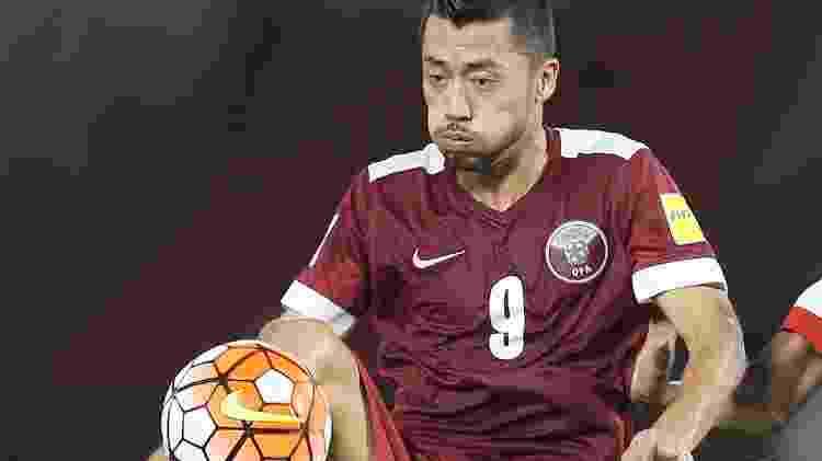 Rodrigo Tabata (Qatar) - Karim Jaafar/AFP - Karim Jaafar/AFP