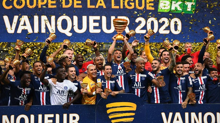 Partida foi parelha, com 0 a 0 no tempo normal; nos pênaltis, PSG venceu por 6 a 5 - Franck Fife/AFP